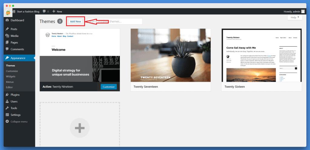 WordPress Mein Theme Kaise Install Kare, Website Kaise Banaye